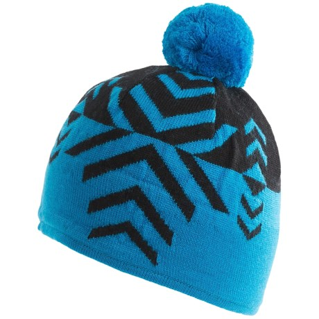 Neve Leah Beanie Hat - Merino Wool (For Women) in Glacier