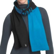 Neve Leah Scarf - Ultrafine Merino Wool (For Women) in Glacier - Closeouts