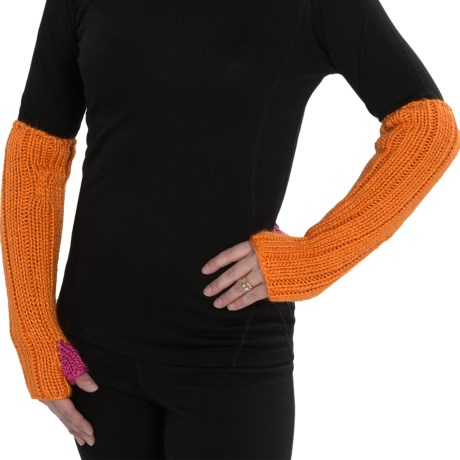 Neve Liz Arm Warmers (For Women) in Flame