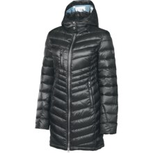 Neve Madison Down Coat - Hooded, 600 Fill Power (For Women) in Black - Closeouts