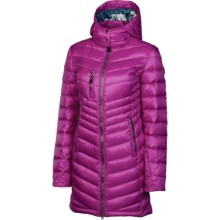 Neve Madison Down Coat - Hooded, 600 Fill Power (For Women) in Orchid - Closeouts