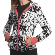 Neve Mara Hoodie - Cotton-Wool, Full Zip (For Women) in Black - Closeouts