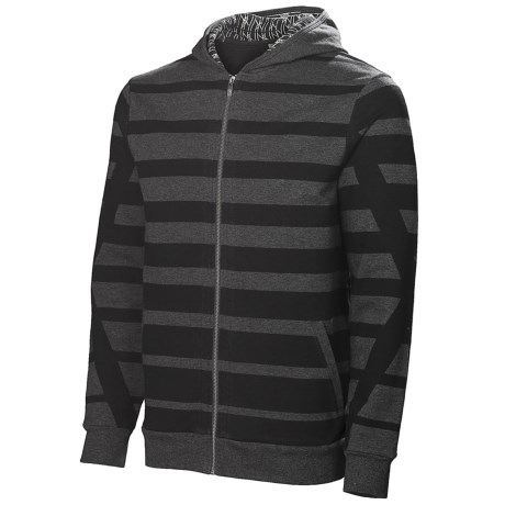 Neve Max Hoodie Sweatshirt - Full Zip (For Men) in Charcoal