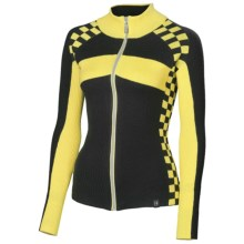 Neve McKensey High-Performance Sport Sweater (For Women) in Canary - Closeouts