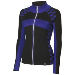 Neve McKensey High-Performance Sport Sweater (For Women) in Canary