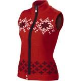 Neve Nina Nordic Vest - Merino Wool, Full Zip (For Women)