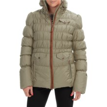 Neve Nina Peplum Down Jacket - 800 FP (For Women) in Natural - Closeouts