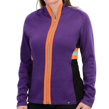 Neve Resi High-Performance Sport Sweater (For Women) in Purple