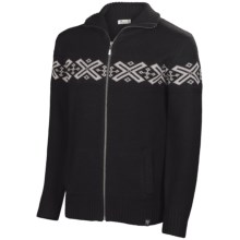 Neve Ryan Sweater - Merino Wool (For Men) in Black/Light Grey - Closeouts