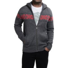Neve Ryan Sweater - Merino Wool (For Men) in Charcoal - Closeouts