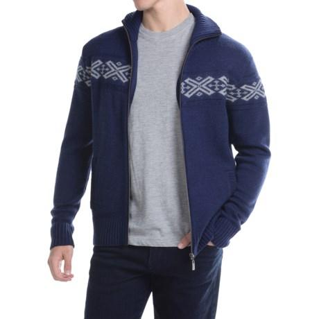 Neve Ryan Sweater - Merino Wool (For Men) in Navy
