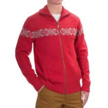 Neve Ryan Sweater - Merino Wool (For Men) in Wine - Closeouts