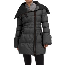 Neve Scarlett Down Jacket - 800 FP (For Women) in Charcoal - Closeouts