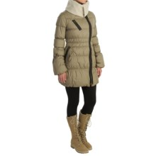 Neve Scarlett Down Jacket - 800 FP (For Women) in Natural - Closeouts