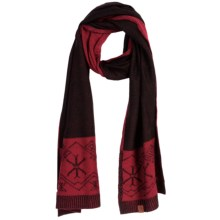 Neve Shelly Scarf - Merino Wool (For Women) in Black - Closeouts