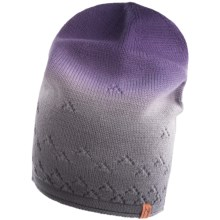 Neve Sierra Beanie Hat - Merino Wool (For Women) in Eggplant - Closeouts
