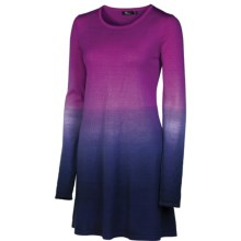 Neve Sierra Dress - Merino Wool, Long Sleeve (For Women) in Orchid - Closeouts