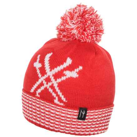 Neve Ski Beanie (For Women) in Peak Chic Red - Closeouts