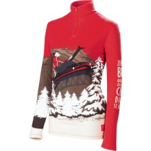 Neve Switzerland Base Layer Top - Zip Neck, Long Sleeve (For Women) in Switzerland - Closeouts