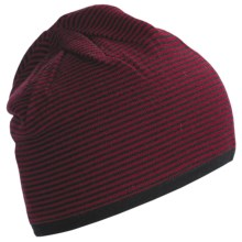 Neve Thomas Beanie Hat - Merino Wool (For Men) in Wine - Closeouts