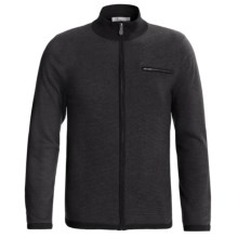 Neve Thomas Cardigan Sweater - Merino Wool, Full Zip (For Men) in Black - Closeouts