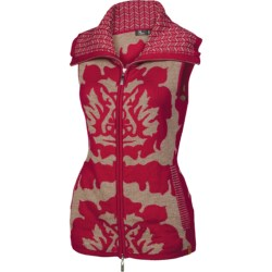 Neve Tina Vest - Merino Wool (For Women) in Wine