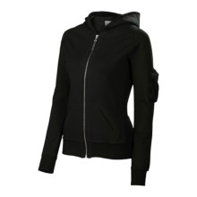 Neve Tori Hoodie Sweatshirt - French Terry (For Women) in Black - Closeouts