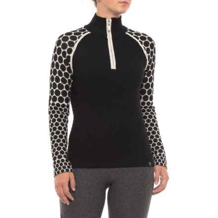 Neve Tori Ski Sweater - Zip Neck (For Women) in Black - Closeouts