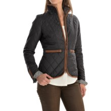 Neve Vida Quilted Jacket (For Women) in Black - Closeouts