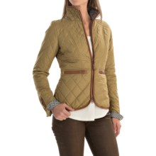 Neve Vida Quilted Jacket (For Women) in Moss - Closeouts