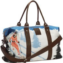 Neve Weekend Bag - Canvas in Courchevel - Closeouts