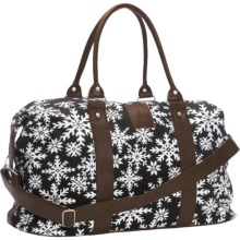 Neve Weekender Bag - Canvas in Mia - Closeouts
