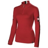 Neve Zoe Sweater - Merino Wool, Zip Neck (For Women)