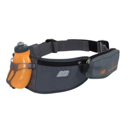 New Balance 1-Bottle Hydration Belt - 7 fl.oz. in Blue/Impulse - Overstock
