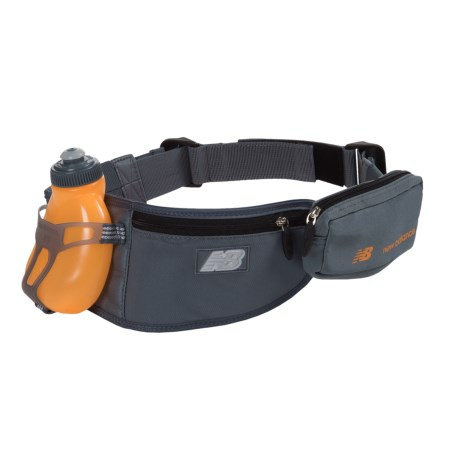 New Balance 1-Bottle Hydration Belt - 7 fl.oz. in Blue/Impulse