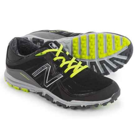 New Balance 1005 Minimus Golf Shoes - Waterproof (For Women) in Black/Lime/Grey - Closeouts