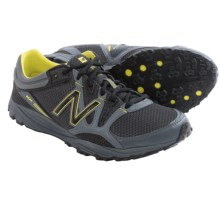 New Balance 101 Minimus Trail Running Shoes (For Men) in Lead/Black/Lemon - Closeouts