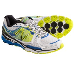 New Balance 1080V3 Running Shoes (For Men) in White/Blue Atoll/Yellow