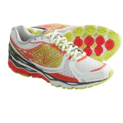 New Balance 1080V3 Running Shoes (For Women) in Diva Pink/Lime/White
