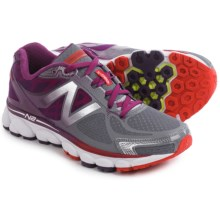 New Balance 1080V5 Running Shoes (For Women) in Grey/Purple - Closeouts