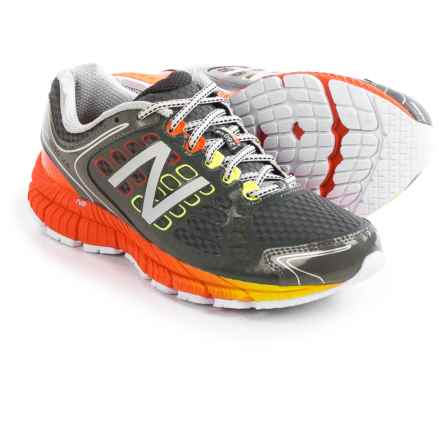 New Balance 1260V4 Running Shoes (For Men) in Grey/Orange - Closeouts