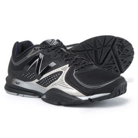 New Balance 1267 Cross-Training Shoes (For Men) in Black/Silver