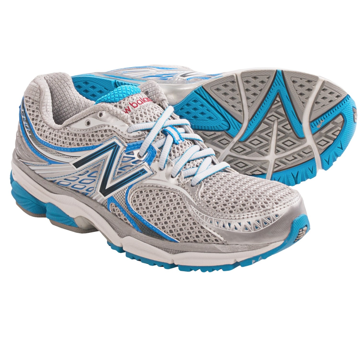 New Balance 1340 Stability Running Shoes (For Women) in Sb Silver/Blue