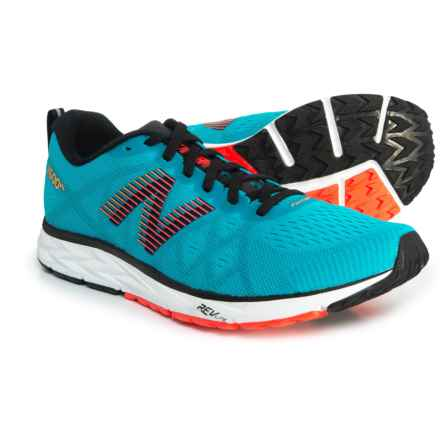 New Balance 1500 V4 Running Shoes (For Men) in Maldives Blue/Black/Flame/Impulse - Closeouts