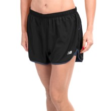 "New Balance 2-in-1 Woven Shorts - 3"", Built-In Shorts (For Women) in Black - Closeouts"