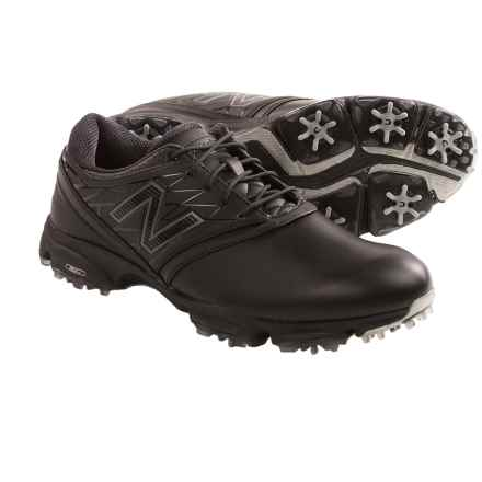 New Balance 2001 Golf Shoes (For Men) in Black - Closeouts
