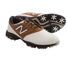 New Balance 2001 Golf Shoes (For Men) in White/Brown - Closeouts
