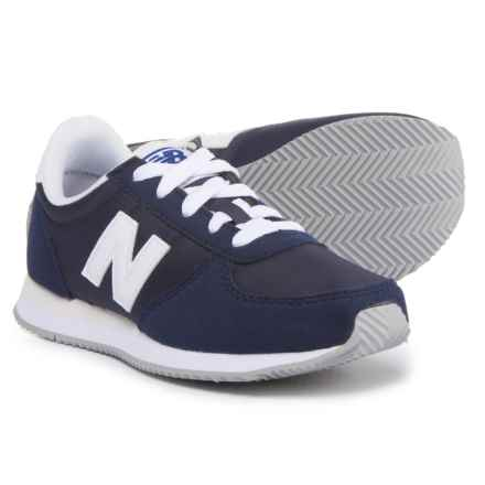 New Balance 220 Sneakers (For Boys) in Navy/White - Closeouts