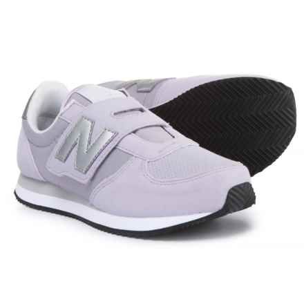 New Balance 220 Sneakers - Touch Fasten (For Girls) in Purple - Closeouts