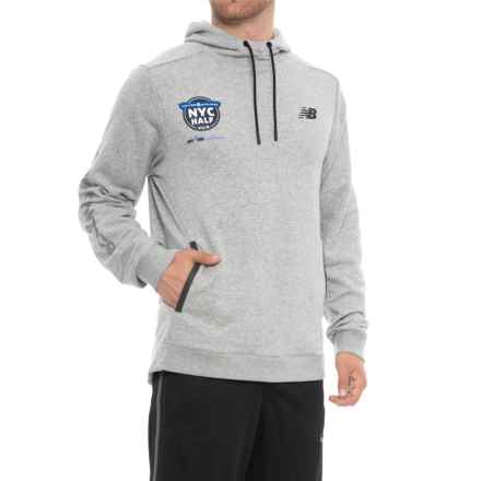 New Balance 247 Sport Hoodie (For Men) in Athetic Grey - Closeouts